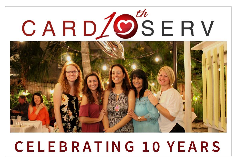 CardioServ Celebrates 10 years!