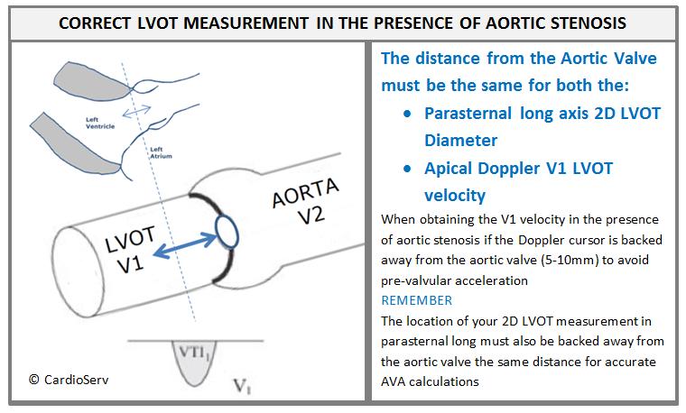 Correct LVOT Measurement