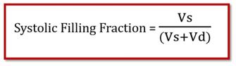 Systolic Filling Fraction