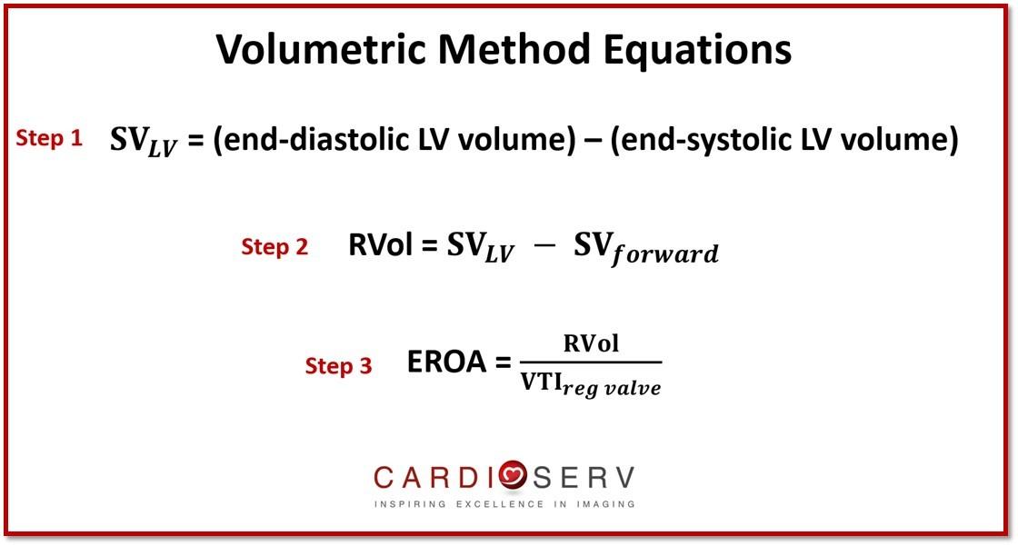 Volumetric Method MR Equations