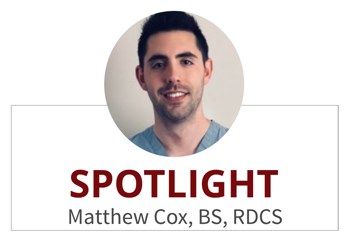 Educator Spotlight:  Matthew Cox, BS, RDCS