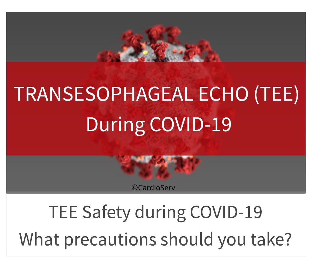 TEE Saftey during COVID-19